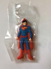 SUPERMAN PORTACHIAVI IN GOMMA KEYCHAIN DC IDEA REGALO