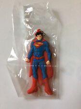 SUPERMAN PORTACHIAVI IN GOMMA KEYCHAIN DC IDEA REGALO