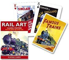 Piatnik Rail Art playing cards  single deck