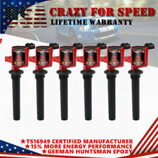 6 Pack Ignition Coils DG500 FD502 For Ford Escape Mercury Mazda Tribute V6 3.0L