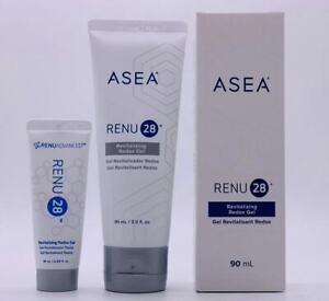 ASEA RENU 28 Revitalizing Gel 90ml+10ml Cell Tech Breakthrough Anti-aging