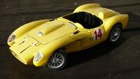 BURAGO 1:18 Yellow Ferrari Testarossa 250 1957 Toy Model Car Parts