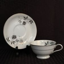 Vintage Noritake Rosamor 5851 Footed Teacup and Saucer Set Replacement Japan