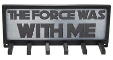 Star Wars Sports Race Medal Holder Hanger Display Rack The Force Was With Me