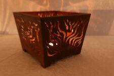 Esschert Feuerschale Metall Rost Optik Lagerfeuer Garten Terasse