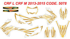 5078 HONDA CRF250L CRF250M 2012-2016 DECALS STICKERS GRAPHICS KIT