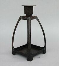 Art Nouveau Kerzenleuchter Eisenleuchter Jugendstil Leuchter Kandelaber um 1900