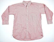 BULLOCK AND JONES Mens Long Sleeve Pinstripe Dress Shirt SZ 16.5 33