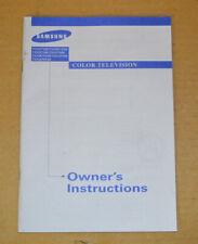 Samsung Color TV Owners Manual TXN2771 - TXN3071WHF - TXN2670WHF & MORE