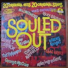SOULED OUT 20 ORIGINAL HITS COMPIL' SOUL FUNK FRENCH LP DISQUES K-TEL 1973