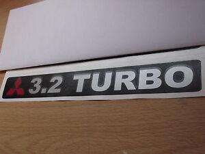 Mitsubishi Shogun / Pajero Replacement tailgate 3.2 TURBO  sticker