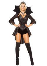 Womens Deluxe Gothic Queen of Darkness Costume