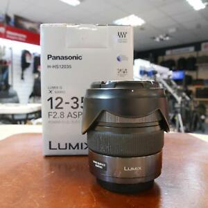 Used Panasonic Lumix G X Vario 12-35mm f2.8 Mk I ASPH Lens - 1 YEAR GTEE