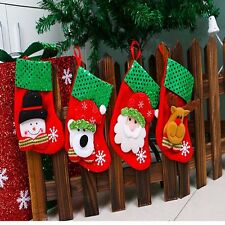 Decoration New Cute Christmas Xmas Tree Hanging Decoration Socks Santa Socks