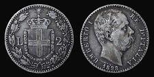pcc810_18) Regno Umberto I 2 lire Stemma 1898