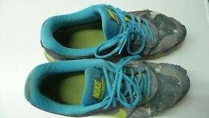 NIKE Reax Run 9 Gr. 47 / US 12,5 / 30,5 cm Nike # 653617-007 gray blue worn