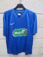 Maillot COUPE de FRANCE porté n°17 NIKE football shirt collection bleu PMU L