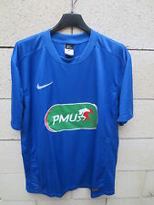 Maillot COUPE de FRANCE porté n°17 NIKE football shirt collection bleu PMU L