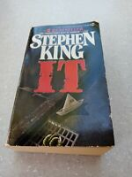 IT By Stephen King 1st Ed With Full Number Line Pb Horror Thriller clown 80s