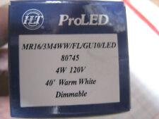 6 PROLED 80745 LED  E26 ProLED PAR16/3M4WW/FL/GU10/LED 4 watt 120v Warm White