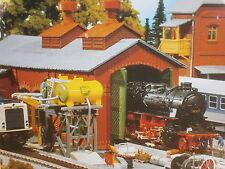 Faller Pola 310600 H0 Lokschuppen aus Ziegelstein mit Kesselhaus Bausatz NEU