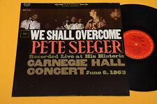 PETE SEEGER LP WE DOIT VAINCRE-ORIG TOP FOLK USA ANNÉES 60 EX