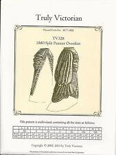 Schnittmuster Truly Victorian TV 328: 1880 Split Pannier Overskirt