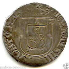 PORTUGAL JEAN III TOSTAO ARGENT N.D LIBONNE RARE !!!!!!