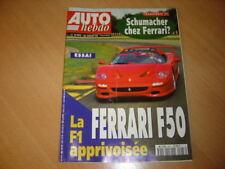 Auto hebdo N°993 Ferrari F50.Mika Salo.