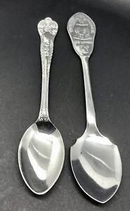 Collectible Princess Diana & Prince Charles Wedding Commemorative Spoons, 1981.