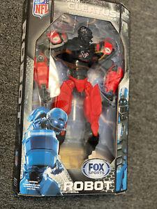 NFL Houston Texans Team Cleatus Fox Sports Robot Action Figure Posable New