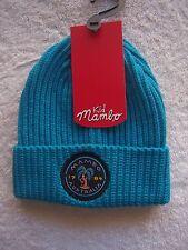 BNWT Toddler Boy's Mambo Aqua Acrylic Knitted Beanie/Hat