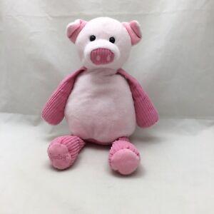 "Penny The Pig Scentsy Buddy Pink Corduroy No Scent Pak Soft Plush 15"" Toy Lovey"