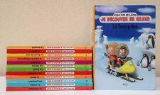Lot de 13 livres enfants: Je découvre en grand avec Tim et Lillou (éd. Atlas)