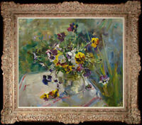 """Hand-painted Original Oil painting art Impressionism flower On Canvas 20""""x24"""""""