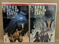 BPRD The Abyss of Time Dark Horse Comics #1 #2 Complete Series Pages of Hellboy