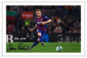 IVAN RAKITIC Signed Autograph PHOTO Fan Gift Signature Print BARCELONA Soccer