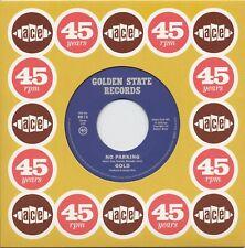 "GOLD No Parking vinyl 7"" hard rock proto punk psych Ace 45th Anniversary"