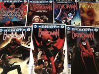 BATWOMAN DC UNIVERSE REBIRTH #1 -#7 COMIC BOOK BATMAN SUPER HERO SCARECROW