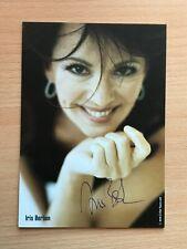Autogrammkarte - IRIS BERBEN - SCHAUSPIELERIN - orig. signiert #457