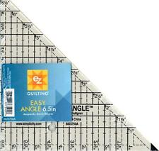 SIMPLI-EZ QUILTING ACRYLIC TEMPLATE EASY ANGLE TRIANGLE RULER 6.5 8823759A
