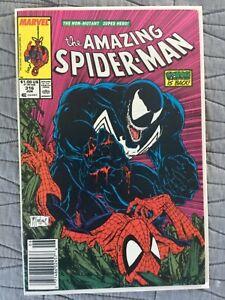 RARE AMAZING SPIDER-MAN #316 CLASSIC VENOM COVER HIGH GRADE MCFARLANE