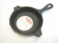 Vintage Wagner Ware 1050 Cast Iron Ashtray Pair Frying Pan Spoon Rest with Label