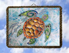 Tropical Beach Ocean 55 Turtle Beach Decor Art Coastal lalarry Vintage