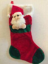 Santa Christmas Stocking 20 Inches Intl. Art Enterprise Co. Ltd
