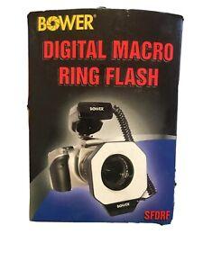 Bower SFDRF Macro Ring Flash for Nikon Canon EOS T7i T7 T6i T6s T6 T5i 80D