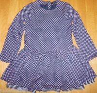 Tommy Hilfiger girl navy blue dress 122 cm 6-7 y BN New designer