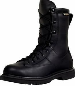 Rocky Men's 9'' Duty Leather Work Boots GORE-TEX Black 804A