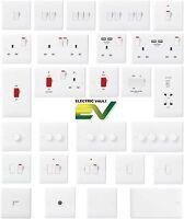 BG Nexus White Moulded Switches & Sockets - Complete Range