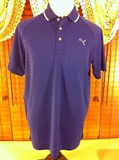 Mens NEW PUMA USP-DRY M MEDIUM COLOR TECH 100% Polyester Blue Shirt NWT